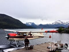 Alaska Seaplane at Dock