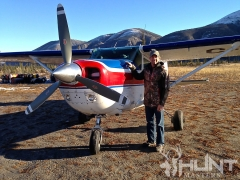 Gregg Ritz and Plane