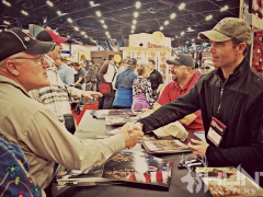 Shaking Hands at NRA