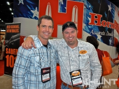 Gregg Ritz and Pigman at NRA