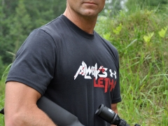Gregg Ritz with the Thompson Center Firearm